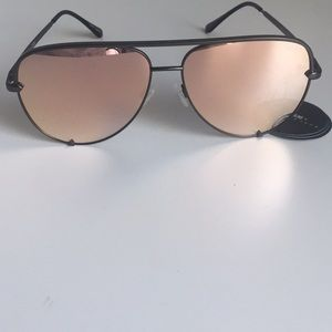 Quay Australia High Key Gun Rose sunglasses